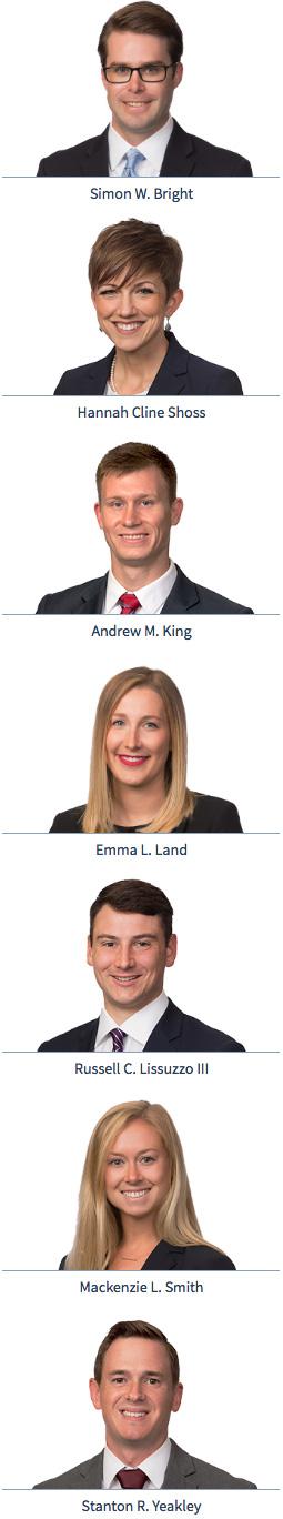 2017 new associates