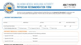 OMMA Adult Patient Form