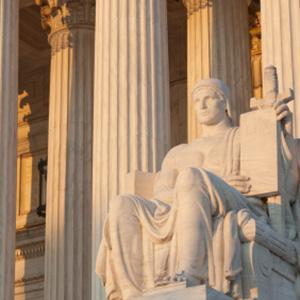 SCOTUS statue
