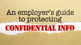 protecting confidential info
