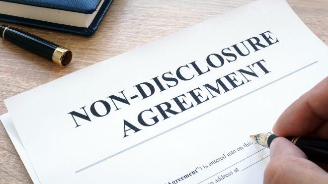 Non-Disclosure Agreement Photo