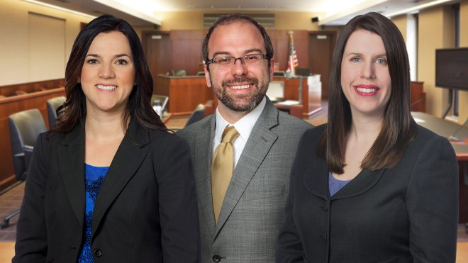 Benchmark Litigation names Cole, Scaperlanda and Simpsen to 2020 '40 & Under Hot List' of trial lawyers