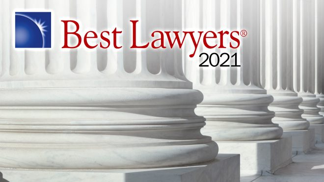 The Best Lawyers in America 2021