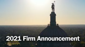2021 Firm Announcement