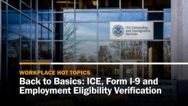 Form I-9 and Employment Eligibility Verification