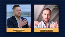 Cybersecurity attorney Joshua Snavely and cybersecurity expert Donnie Hasseltine
