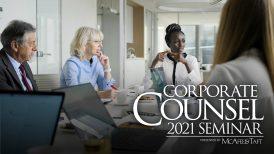 Corporate Counsel 2021 Seminar