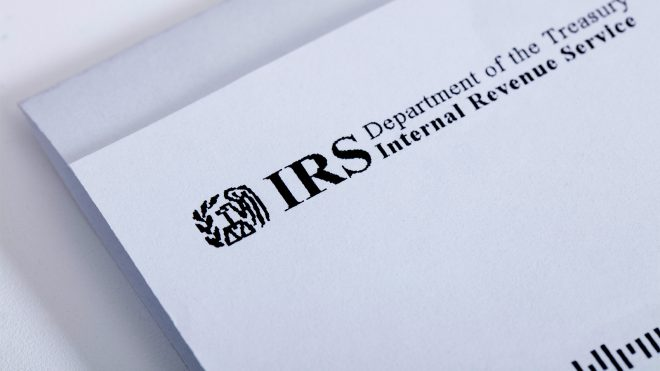 IRS correspondence