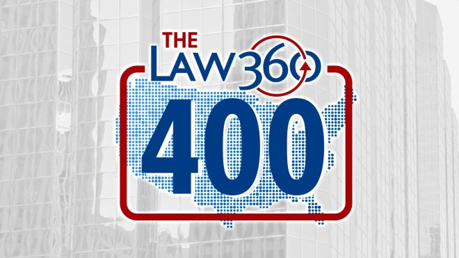 Law360 ranks McAfee & Taft among nation's largest law firms
