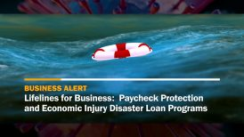 Lifelines for business: Paycheck Protection and Economic Injury Disaster Loan Programs