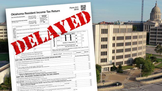 Oklahoma Tax Commission tax form
