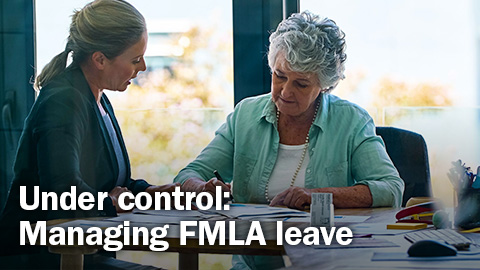 Webinar — Under control: Managing FMLA leave