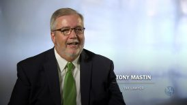 Veteran tax policy expert Tony Mastin