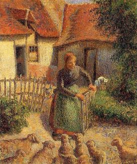 Pissarro painting