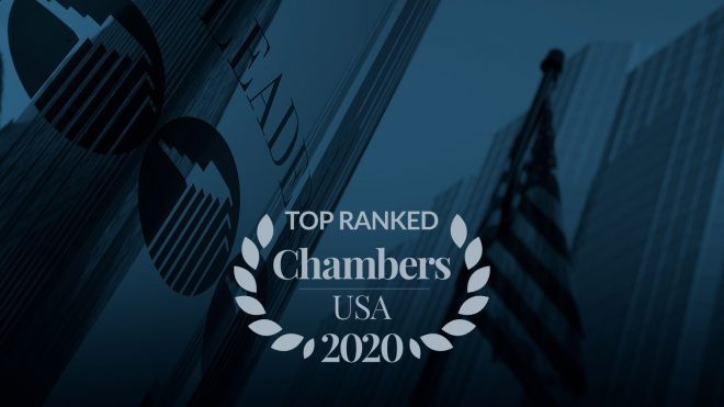 Chambers 2020 Honorees Graphic