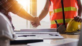 contractor handshake agreement