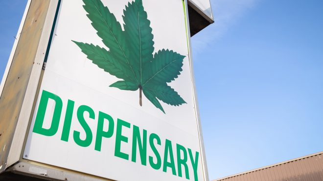 Dispensary sign