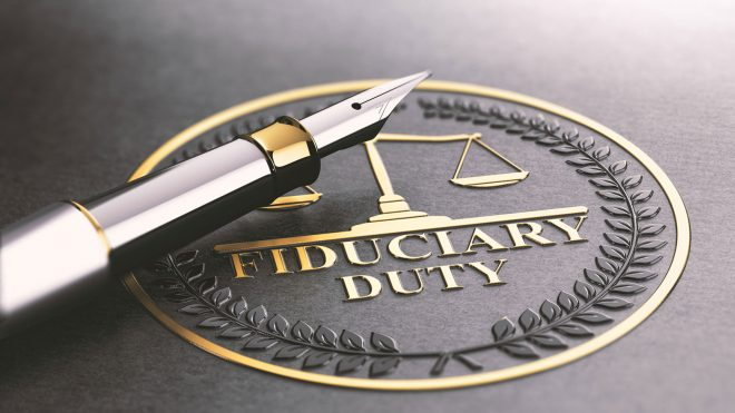 Fiduciary duty badge
