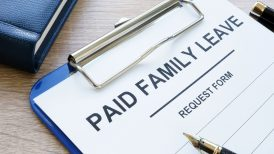Paid family leave request form