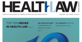 Health Law Connections magazine January 2021 cover