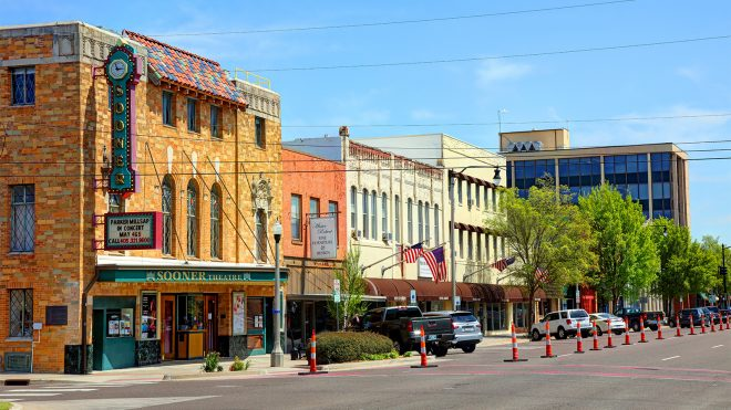Main Street USA, Norman, Oklahoma