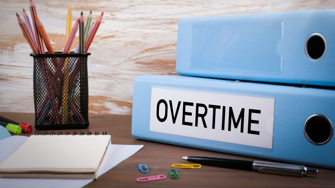 overtime rules book