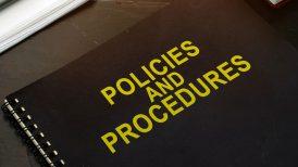 Policies and procedures handbook