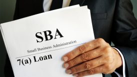 small business administration 7(a) loan