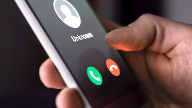 unknown caller robocall